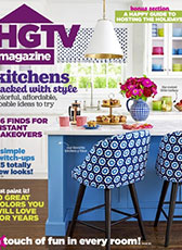 HGTV Magazine November 2016 Cover